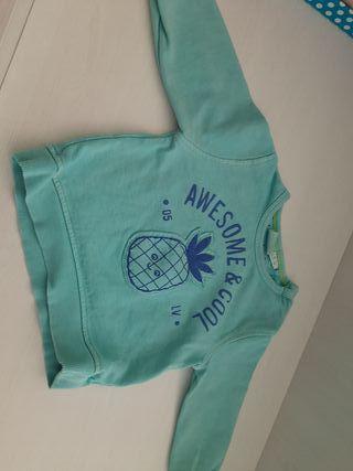 sudadera 12 a 18 meses zara niño
