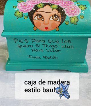 baul mediano de Frida Kahlo