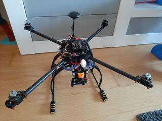 drone tarot 650 fpv pixhawk RunCam rc radiocontrol