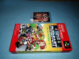 SUPER MARIO KART + CARD SFC Nintendo Super Famicom