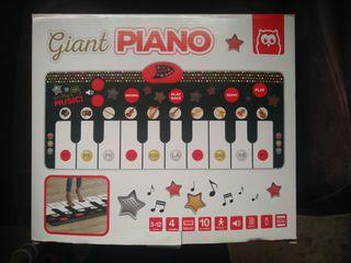 piano de pies