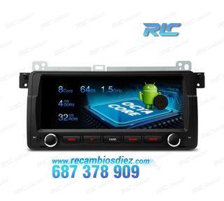 "NAVEGADOR LCD TACTIL 8,8"" 4K BMW E46 ANDROID 8.0 4"
