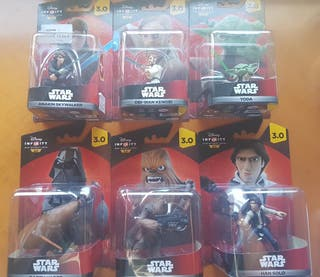 pack figuras infinity star war