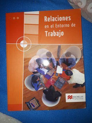 """libro """"relaciones en el entorno de trabajo"""""""