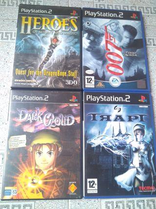 lote juegos PS2 dark cloud trapt