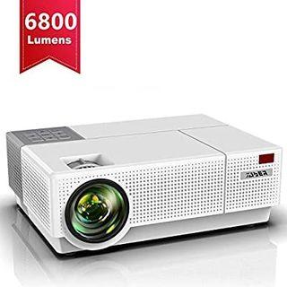 proyector Full HD y Pantalla de protector