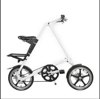 Bicicleta Plegable Strida - 10 kg - Blanca