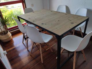 Mesa comedor 140 cm