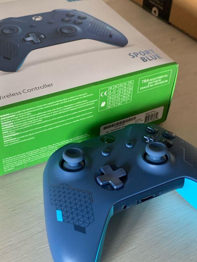 Mando Xbox Sport Azul
