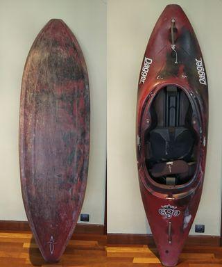 Kayak olas y descenso ríos