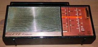 Radio Antigua Philips 10 Transistores