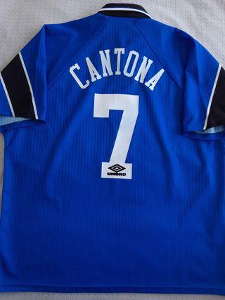Manchester United 1996-98 Cantona XXL camiseta