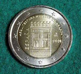 2 EUROS -ESPAÑA 2020- ARQUITECTURA MUDEJAR - S/C
