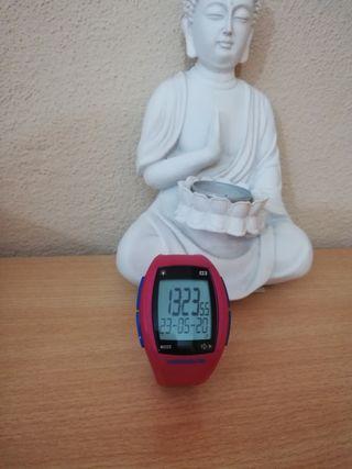 reloj pulsometro+ cinta de pecho