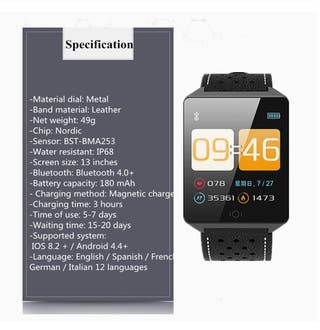 Smartwatch, reloj inteligente.
