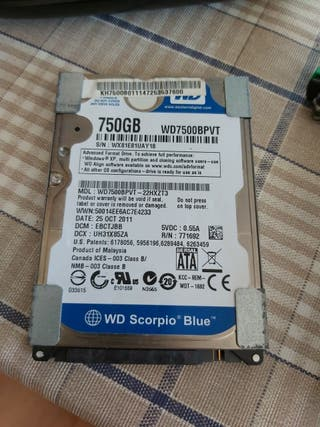 disco duro sata 750GB
