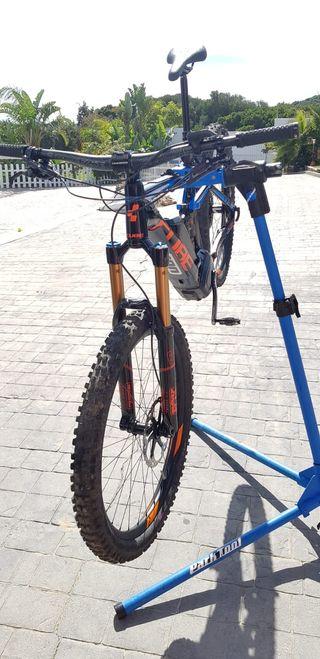 Bike electrica montaña cube stereo action team