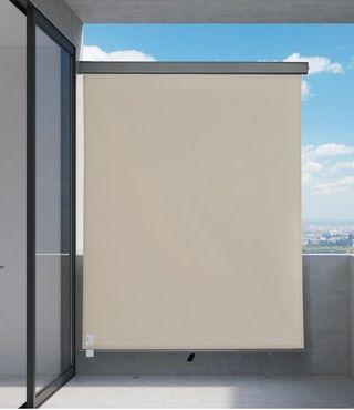 Toldo privacidad beige 250x160cm NUEVO