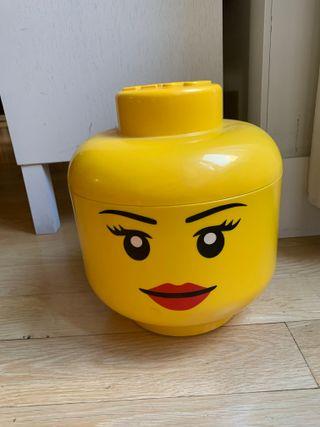LEGO cabeza para almacenamiento