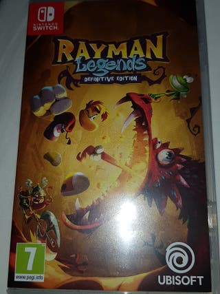 Rayan Legends Nintendo switch