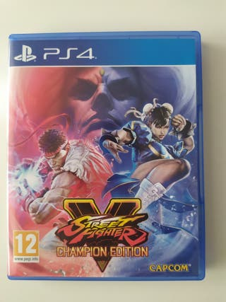 Street Fighter 5(PS4)