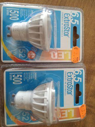 Bombillas LED halógenos. 52w