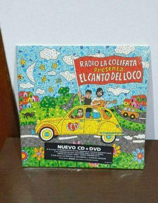 nuevo precintado CD + DVD el canto del loco