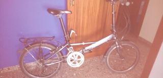 bicicleta plegable. Raleig aluminio.