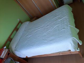Estructura cama matrimonio