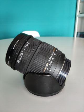 "objetivo Sigma 17-70/2,8-4 DC OS Macro HSM ""Nikon"""