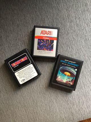 Juegos cartuchos Atari 2600