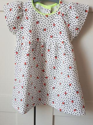 vestido niña zara 12-18 meses