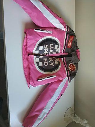 Chaqueta de moto con protecciones talla 3XS