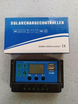 controlador de carga solar 20A