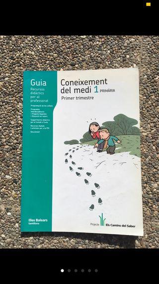 Libro de medio. 1 primaria. Català