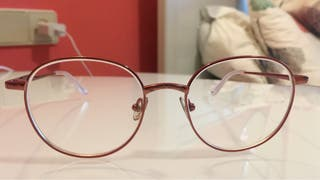Gafas miopia rosa
