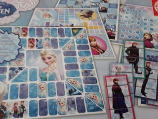 Juegos frozen 8 en 1