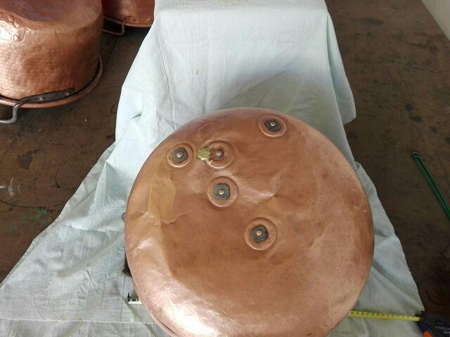 caldero de cobre
