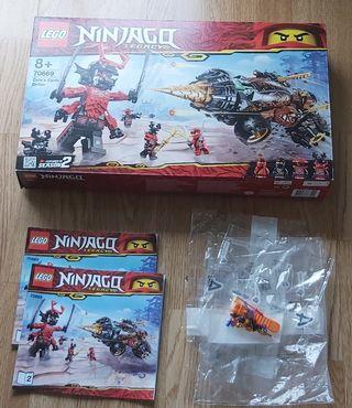 Perforadora de Cole Lego Ninjago
