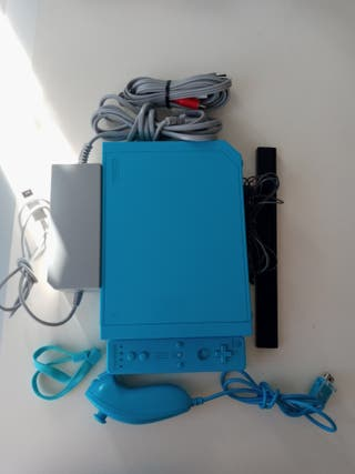 Nintendo Wii Azul