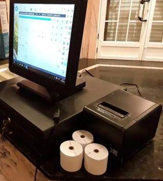 Caja registradora TPV Táctil completo
