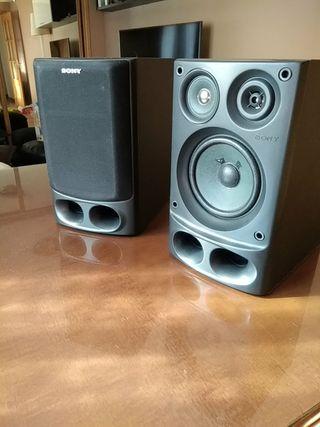 Sony pareja de altavoces SS-H10
