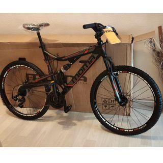 Bicicleta de MTB MOMA nueva Talla XL
