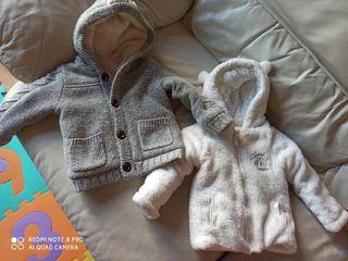 Chaqueta de lana unisex 12-18 meses