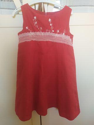 vestido talla 4 años