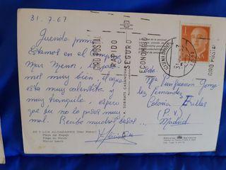 POSTALES ESPAÑA KITSCH AÑOS 60