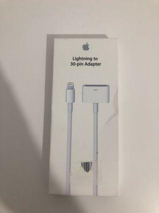 adaptador apple lighting a 30 pin