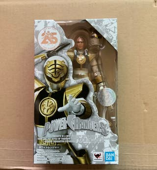 Power RANGER WHITE 25 YEARS BANDAI S.H. FIGUARTS