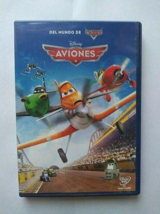 DVD AVIONES (DISNEY) PELICULA DE ANIMACION