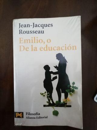 Emilio, o De la educación. Jean-Jacques Rousseau